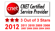 CNET Certified Provider - InMotion Hosting